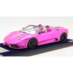 Ferrari F430 Scuderia 16M Flash Pink, Red, Tiffany Blue with Display Case by LookSmart