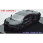 Bugatti Chiron in Grey Carbon, Open Wing Version (Different Colors) by MR