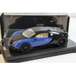 Bugatti Veyron Super Sport Blue/Black on Carbon Base, Limited 30 pcs by MR 1/18