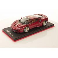Ferrari F8 Tributo Metallic Red with Italian Stripe - One Off Limited 1 pcs by MR