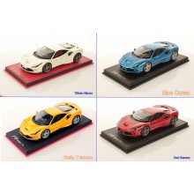 Ferrari F8 Tributo - Limited 99 pcs with Display Case (Different color) by MR