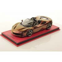 Ferrari SF90 Spider Magenta to Gold - Limited 3 pcs by MR
