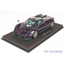 Pagani Huayra Dinastia Purple Carbon - Limited 149 pcs w/ Display Case by BBR