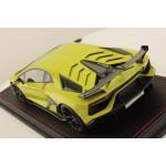 Lamborghini Aventador SVJ Verde Scandal with Italian Stripe - One Off Limited 1 pcs by MR