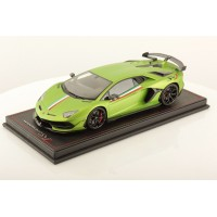 Lamborghini Aventador SVJ Green with Italian Livery - One Off Limited 1 pcs by MR