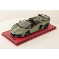 Lamborghini Aventador SVJ Roadster Military Green Matt w/ Italian Stripe - One Off Limited 1 pcs by MR