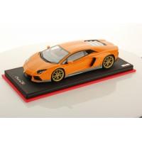 Lamborghini Aventador LP 700-4 Miura Homage Orange, Limited 25 pcs by MR
