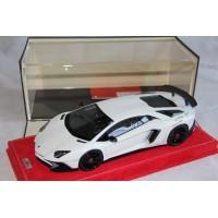 """Lamborghini Aventador LP 750-4 Superveloce """"Big SV Serie"""" White by MR"""