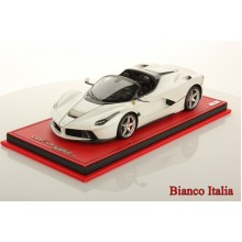 Ferrari LaFerrari Aperta in White - Limited 99 pcs by MR