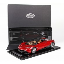 Pagani Huayra Metallic Red, Limited 20 pcs by BBR (Scale 1/12)