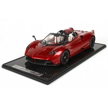 Pagani Huayra Roadster, Red Carbon - Limited 20 pcs by BBR (Scale 1/12)