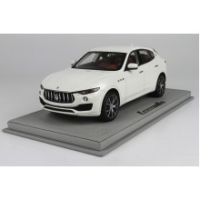 Maserati Levante Geneve Autoshow, White Limited 199 pcs with Display Case by BBR