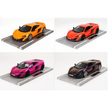 Mclaren 675LT (Chameleon, Flash Pink, Orange, Red) - Limited 20 pcs by BBR