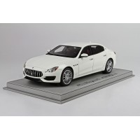 Maserati Quattroporte MY17 Gran Sport, White Limited 50 pcs with Display Case by BBR