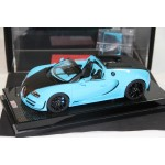 Bugatti Grand Sport Veyron Vitesse Baby Blue on Carbon Base, Limited 15 pcs by MR