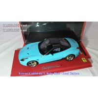 Ferrari California T, Baby Blue - Roof Carbon, Limited 8/20 with Display Case