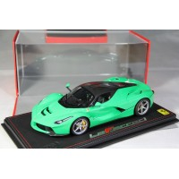 Ferrari LaFerrari Green - Limited 32 pcs with Display Case by BBR