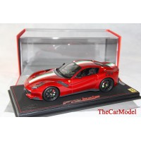 Ferrari F12 TdF, Rosso Fuoco with Italian Flag, Limited 24 pcs with Display Case by BBR