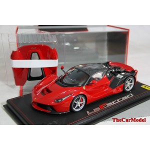 LaFerrari Open Engine Red & Carbon Fiber Roof Limited 30 pcs by BBR Model