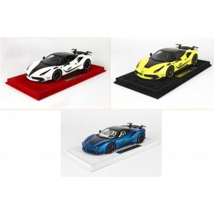 Mansory Ferrari 4XX Siracusa White, Yellow, Blue - Ltd 12 pcs by BBR