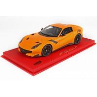 Ferrari F12 TDF Matt Orange - Limited 14 pcs with Display Case by BBR