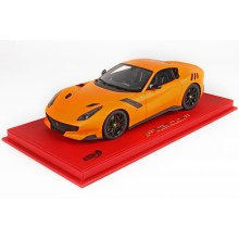 Ferrari F12 TDF Matt Orange - Limited 14 pcs with Display Case by BBR