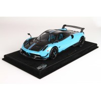 Pagani Huayra BC in Baby Blue - Limited 20 pcs with Display Case by BBR