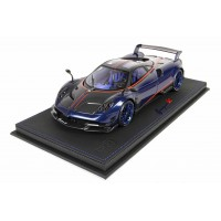 Pagani Huayra BC Blue Carbon - Limited 20 pcs w/ Display Case by BBR