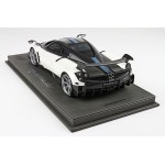 Pagani Huayra BC, Metallic Pearl White - Limited 99 pcs with Display Case by BBR