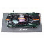Pagani Huayra BC in Green & Orange Carbon - Limited 149 pcs w/ Display Case by BBR
