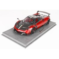 Pagani Huayra BC in Red Rosso Fuoco - Limited 40 pcs w/ Display Case by BBR