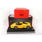 Ferrari Enzo Yellow - Limited 60 pcs with Display Case by BBR