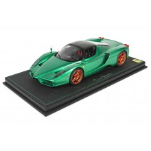 Ferrari Enzo Metal Green - Limited 99 pcs with Display Case by BBR