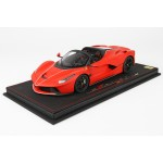 Ferrari Laferrari Aperta Red with Italian Brakes - Limited 28 pcs with Display Case by BBR