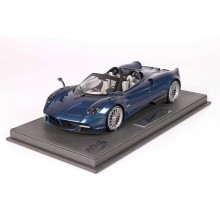 Pagani Huayra Roadster, Blue Carbon - Limited 200 pcs with Display Case by BBR