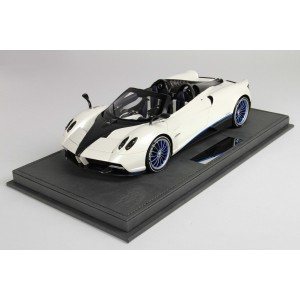 Pagani Huayra Roadster Mica White - Limited 50 pcs w/ Display Case by BBR