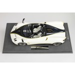 Pagani Huayra Roadster White Gyrfalcon - Limited 40 pcs w/ Display Case by BBR