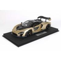 Mclaren Senna in Metallic Gold - Limited 46 pcs w/ Display Case by BBR