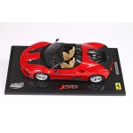 Ferrari J50 Rosso Red on Carbon Base - Limited 24 pcs with Display Case by BBR