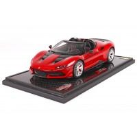 Ferrari J50 Special Edition Red on Carbon Base - Limited 100 pcs with Display Case by BBR