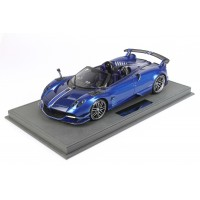 Pagani Huayra BC Carbon Fiber Blue - Limited 48 pcs w/ Display Case by BBR