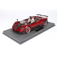 Pagani Barchetta in Red Rosso Metallic - Limited 24 pcs with Display Case by BBR