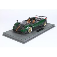 Pagani Barchetta in Green Carbon Fiber - Limited 48 pcs with Display Case by BBR