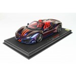 Ferrari 488 Pista Spider Chameleon - Limited 16 pcs with Display Case by BBR
