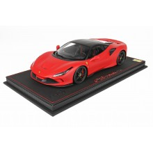 Ferrari F8 Tributo in Red Rosso Corsa - Limited 32 pcs with Display Case by BBR