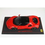 Ferrari SF90 Stradale Red Rosso Corsa - Limited 60 pcs with Display Case by BBR