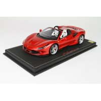 Ferrari F8 Spider in Enzo Red - Limited 12 pcs with Display Case by BBR