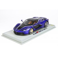 Ferrari LaFerrari Blue Electric - Limited 32 pcs with Display Case by BBR