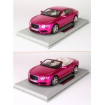 Bentley Continental GT V8 S, Flash Pink - Limited 20 pcs with Display Case by BBR