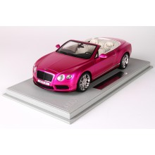 Bentley Continental GT V8 S Convertible, Flash Pink - Limited 20 pcs with Display Case by BBR